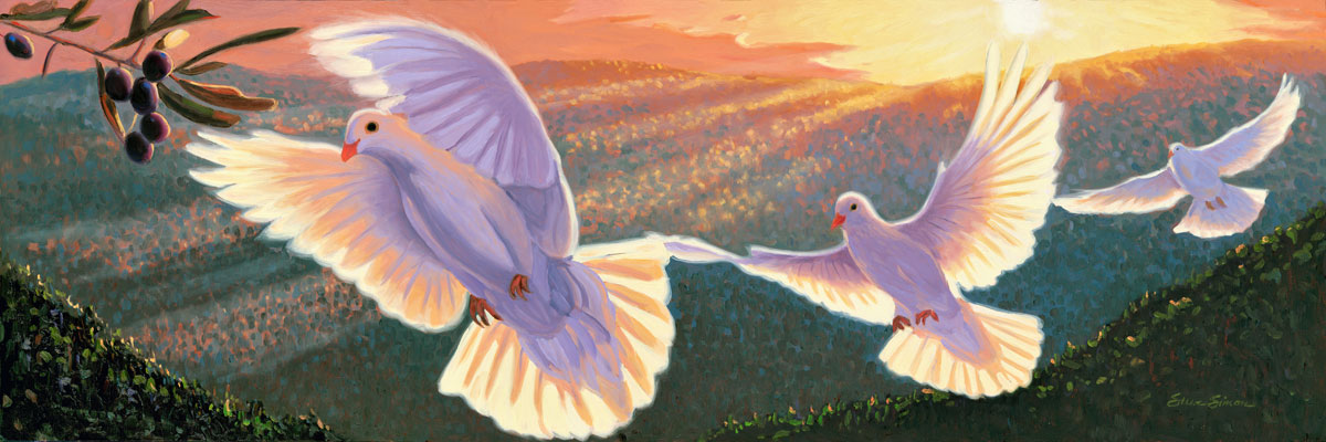 Dove And The Olive Branch The Great Peacemakers