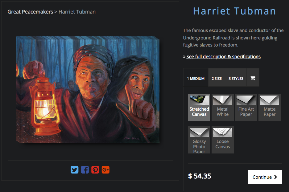 Shop for Harriet Tubman art prints
