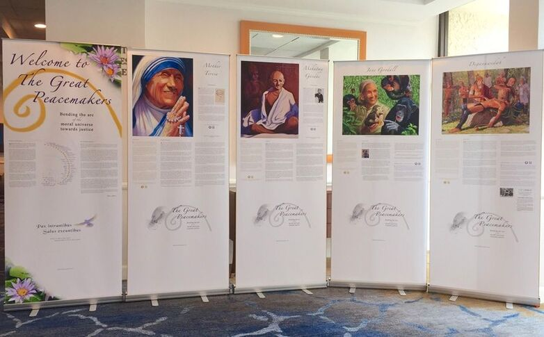 Great Peacemakers Travelling Exhibit